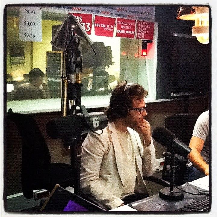Антон Голубчик в эфире радио Маяк