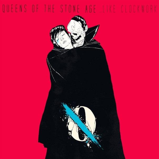 Обложка альбома группы Queens of the Stone Age - ...Like Clockwork 2013