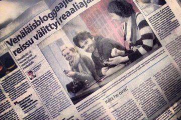 Российские блоггеры в финских СМИ
