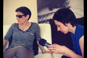 Ксения Виноградова и Елена Погребижская на записи #GrapeTalk
