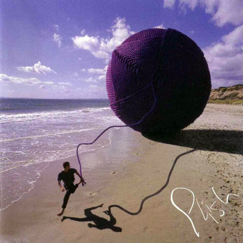 Обложка альбома Phish — Slip Stitch and Pass. Автор - Storm Thorgerson / Сторм Торгерсон