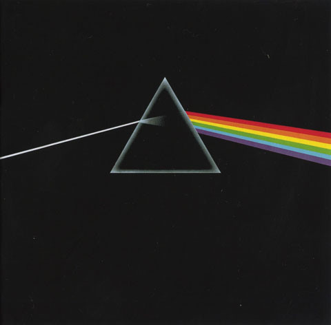 Обложка альбома Pink Floyd - The Dark Side of the Moon. Автор - Storm Thorgerson / Сторм Торгерсон