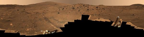 Пнорама Марса, 360 градусов