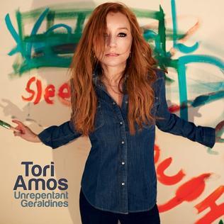 Обложка нового альбома Tori Amos - Unrepentant Geraldines (2014)