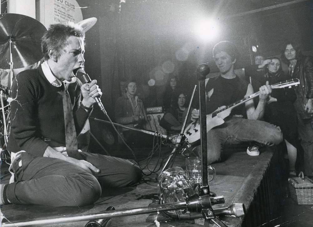 Sex Pistols, 100 Club 1976 © Ray Stevenson