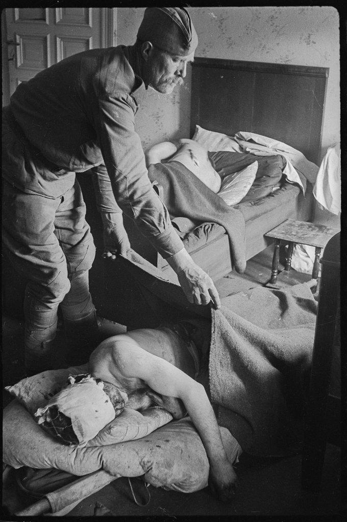 Германия. Апрель-май 1945 года.