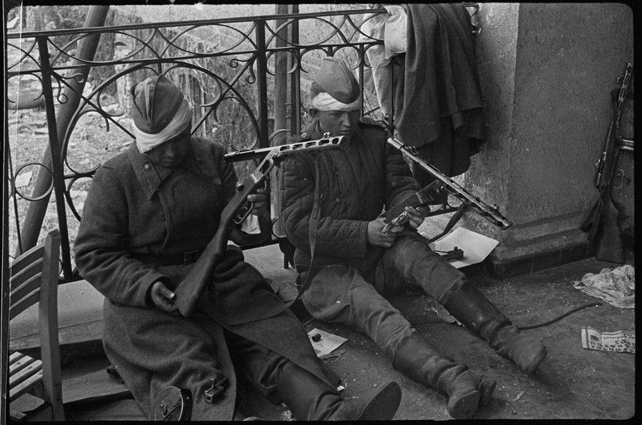 Берлин, май 1945 года.