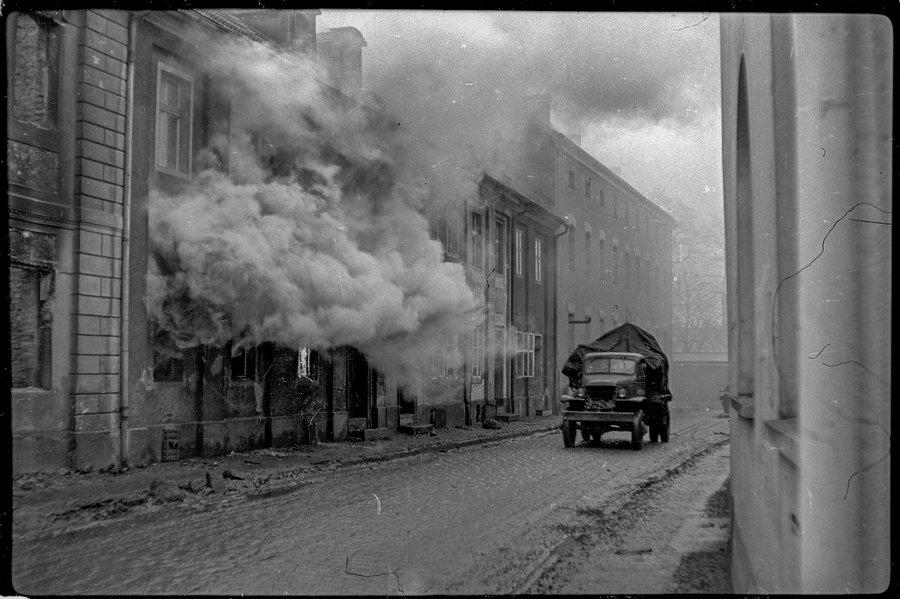 Бунцлау. Германия. Апрель 1945 года.