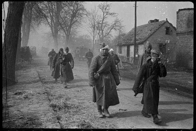 Зееловские высоты, Германия. Апрель 1945 года