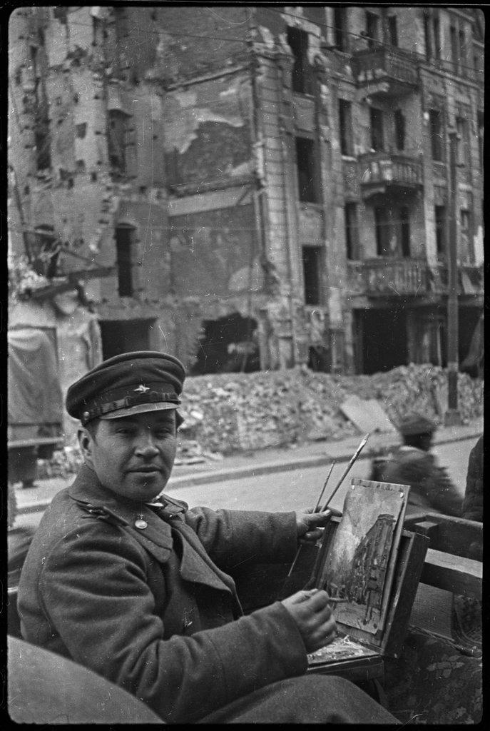 Берлин. Май 1945 года.