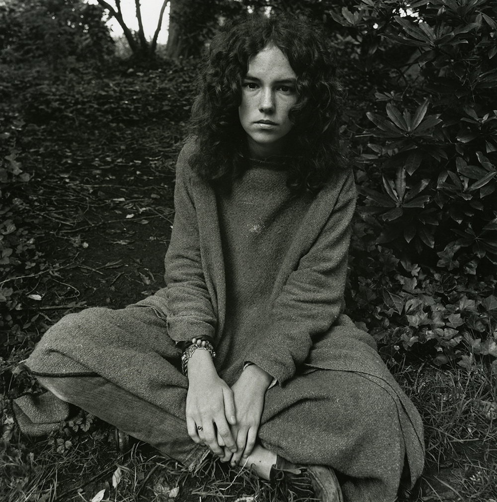 elaine-mayes-haight-ashbury-young-woman-in-park-1968-vintage-gelatin-silver-print-14-x-11-inches