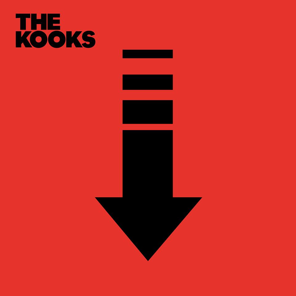 обложка нового альбома The Kooks - Down
