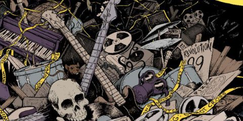 Обложнка нового альбома Green day - Demolicious